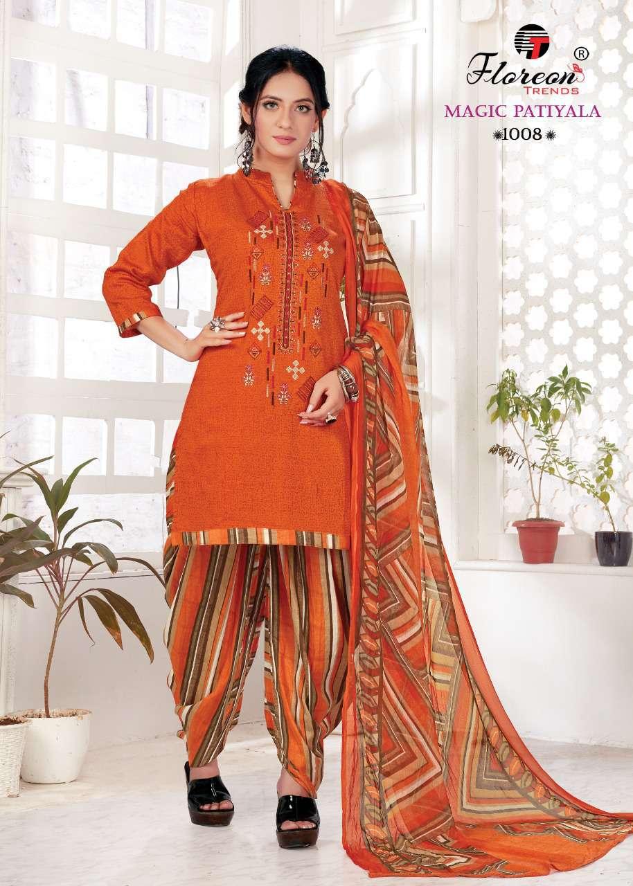 Floreon Trends Magic Patiyala Salwar Suit Wholesale Catalog 10 Pcs 14 - Floreon Trends Magic Patiyala Salwar Suit Wholesale Catalog 10 Pcs