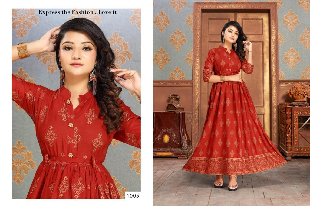 Gold Fish Vol 2 Kurti Wholesale Catalog 7 Pcs 5 - Gold Fish Vol 2 Kurti Wholesale Catalog 7 Pcs