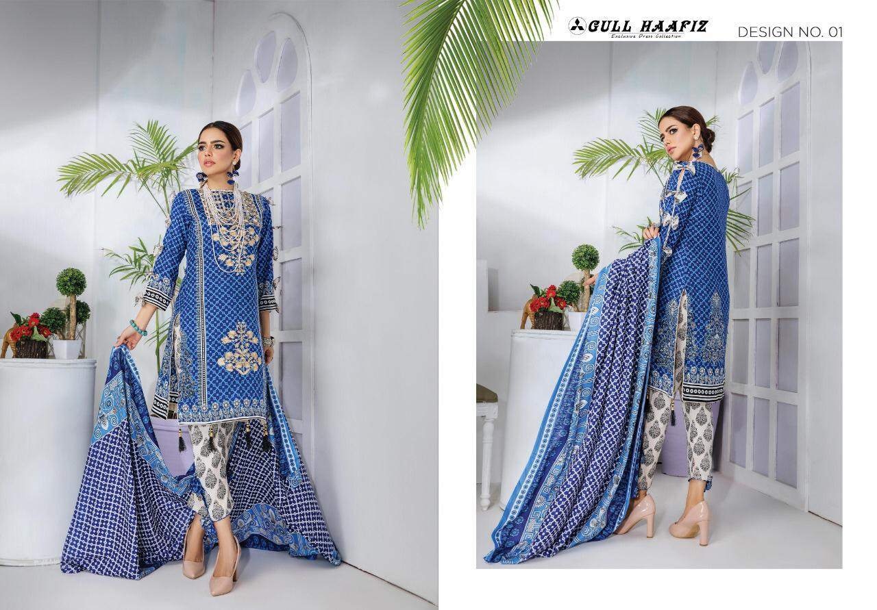 Gull Haafiz Salwar Suit Wholesale Catalog 10 Pcs 1 - Gull Haafiz Salwar Suit Wholesale Catalog 12 Pcs