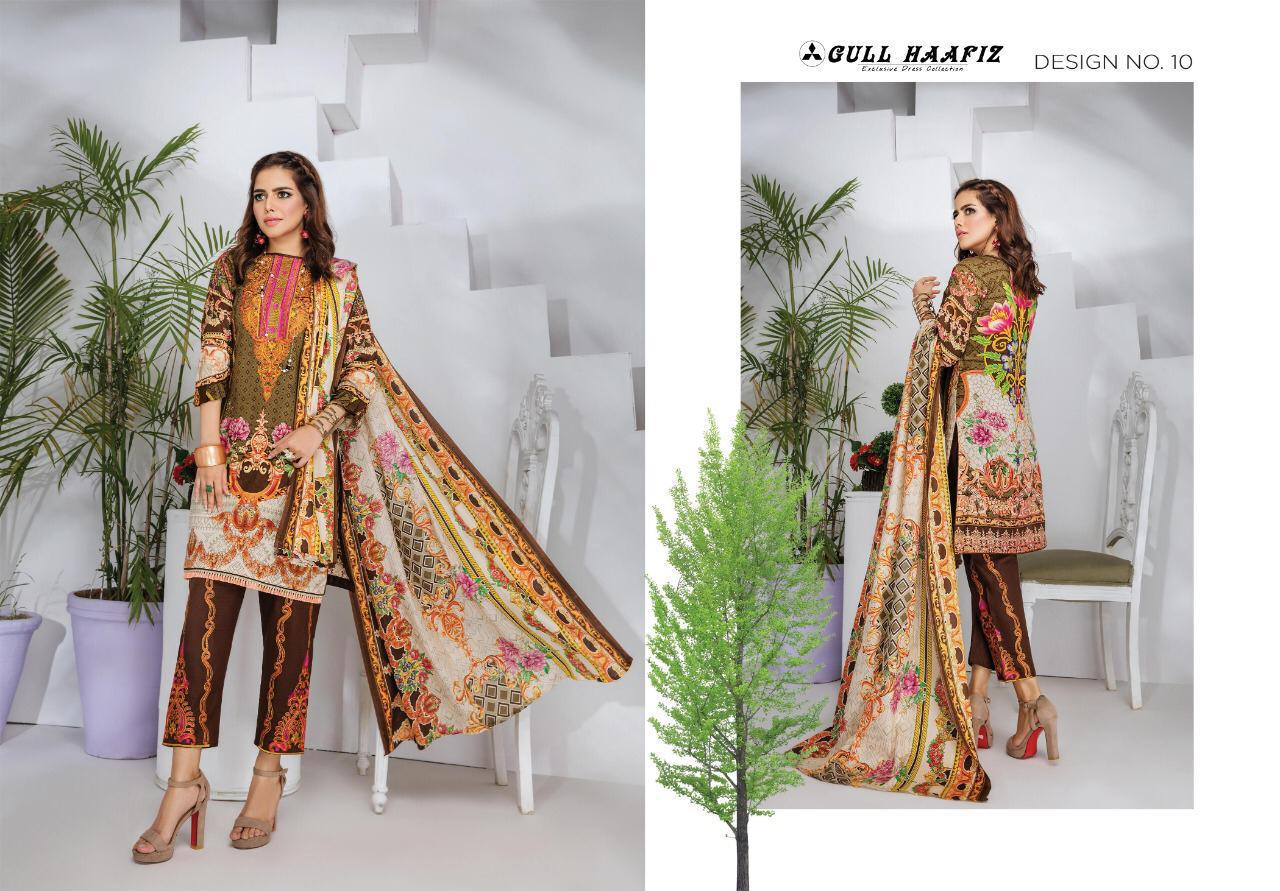 Gull Haafiz Salwar Suit Wholesale Catalog 10 Pcs 10 - Gull Haafiz Salwar Suit Wholesale Catalog 12 Pcs