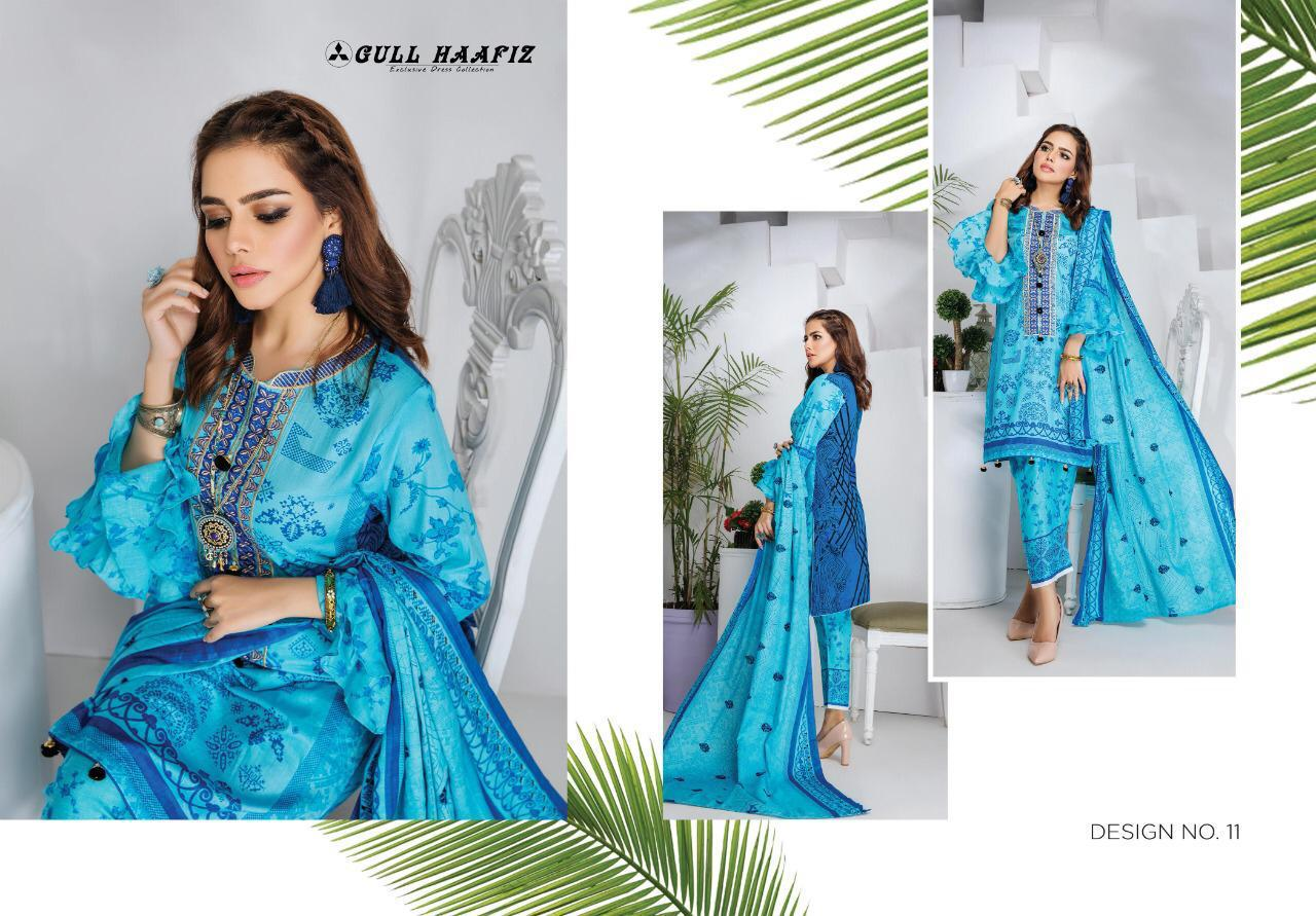 Gull Haafiz Salwar Suit Wholesale Catalog 10 Pcs 11 - Gull Haafiz Salwar Suit Wholesale Catalog 12 Pcs