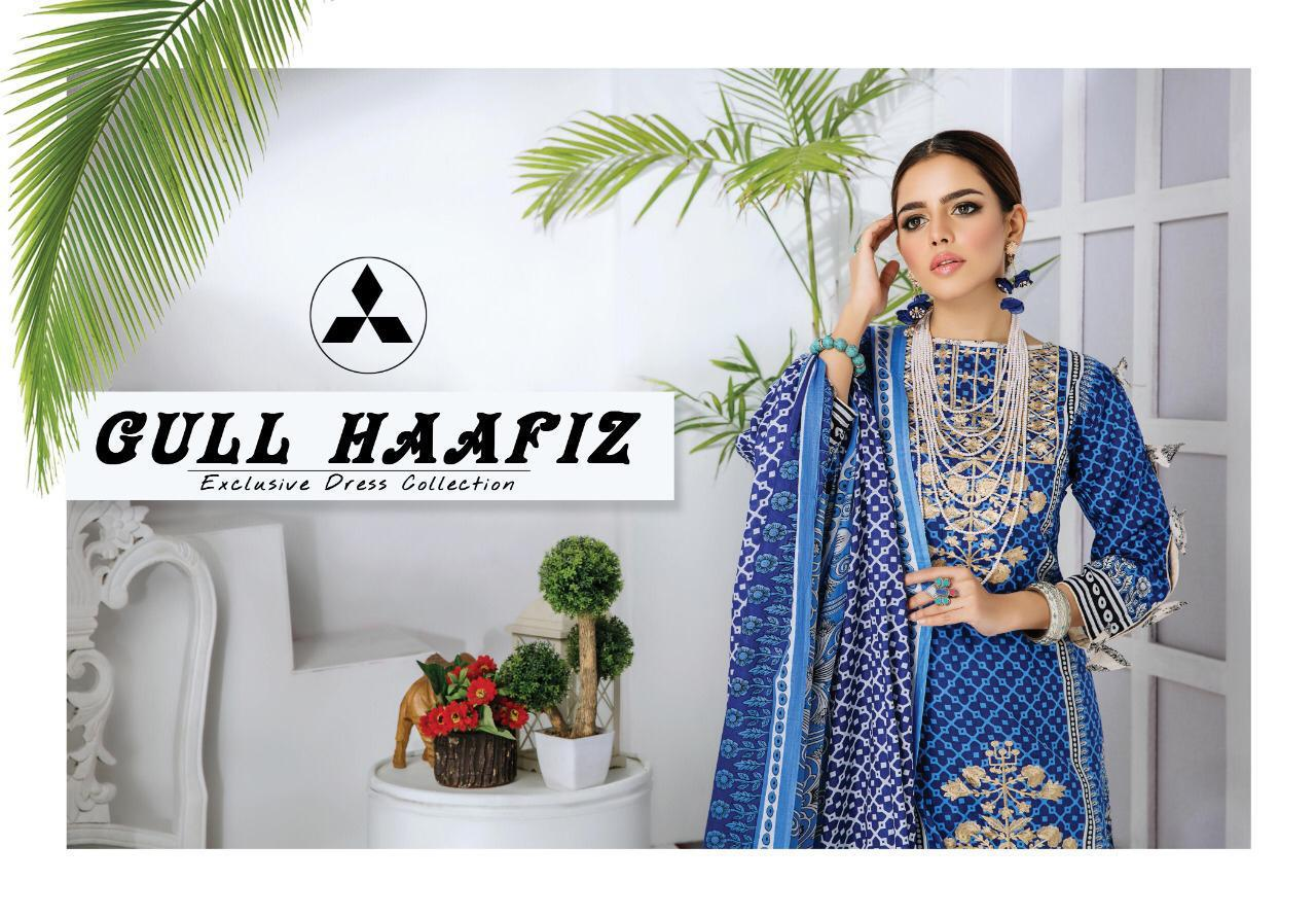 Gull Haafiz Salwar Suit Wholesale Catalog 10 Pcs 12 - Gull Haafiz Salwar Suit Wholesale Catalog 12 Pcs