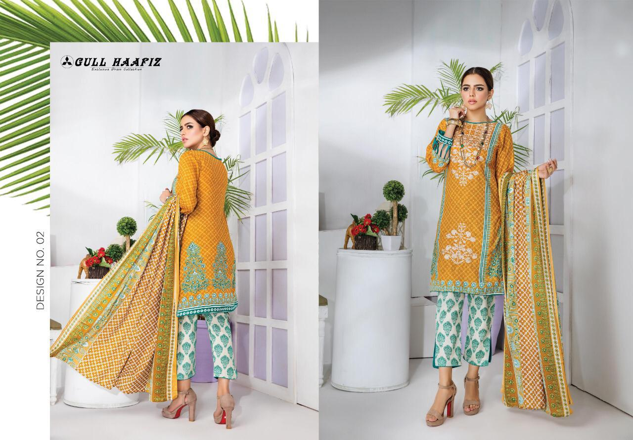Gull Haafiz Salwar Suit Wholesale Catalog 10 Pcs 2 - Gull Haafiz Salwar Suit Wholesale Catalog 12 Pcs