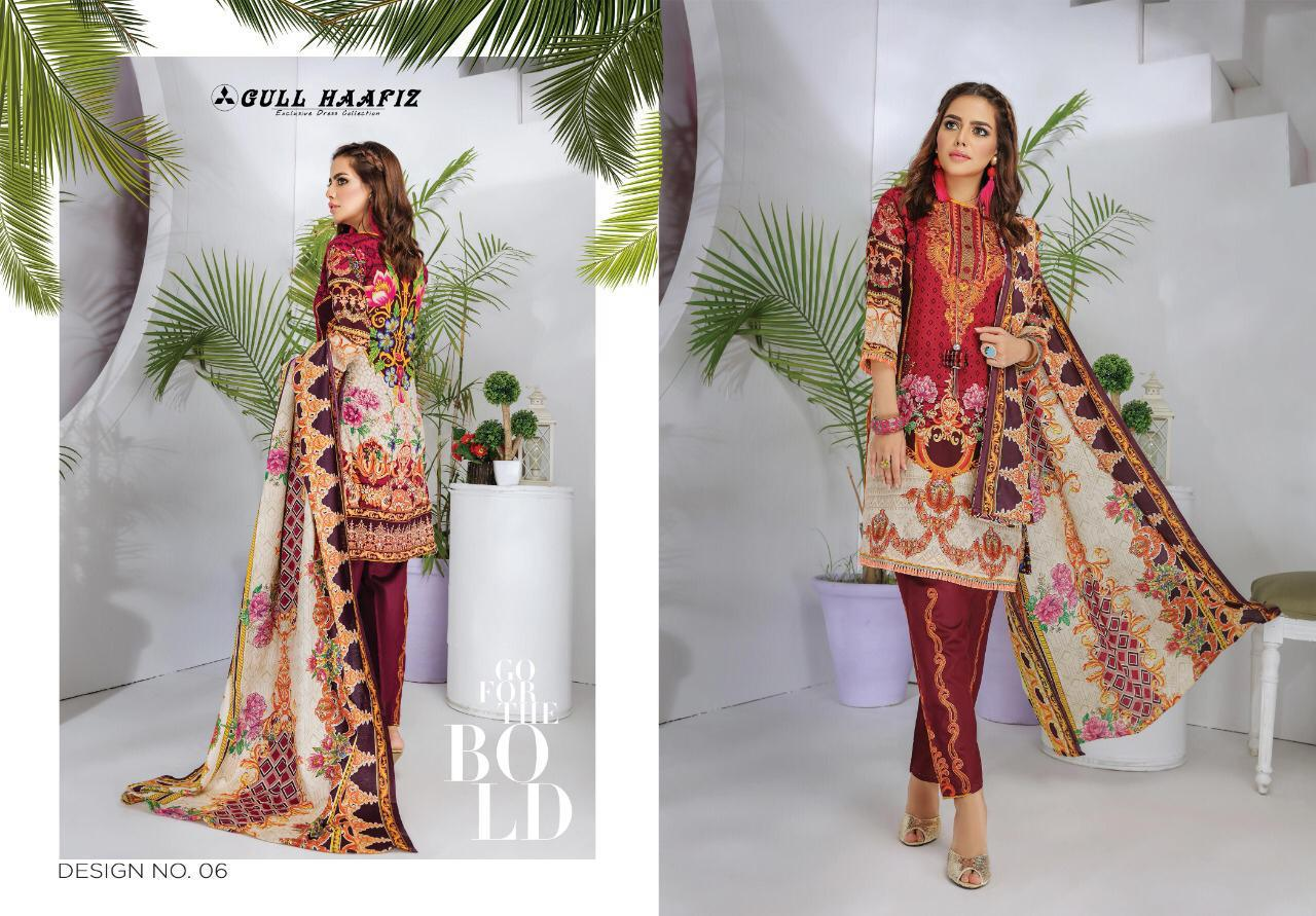 Gull Haafiz Salwar Suit Wholesale Catalog 10 Pcs 5 - Gull Haafiz Salwar Suit Wholesale Catalog 12 Pcs