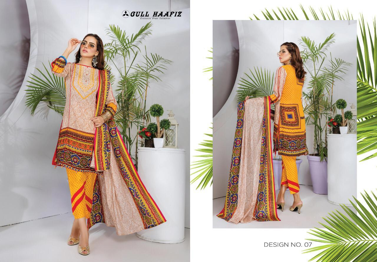 Gull Haafiz Salwar Suit Wholesale Catalog 10 Pcs 6 - Gull Haafiz Salwar Suit Wholesale Catalog 12 Pcs