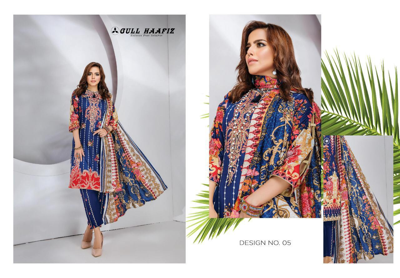 Gull Haafiz Salwar Suit Wholesale Catalog 10 Pcs 7 - Gull Haafiz Salwar Suit Wholesale Catalog 12 Pcs