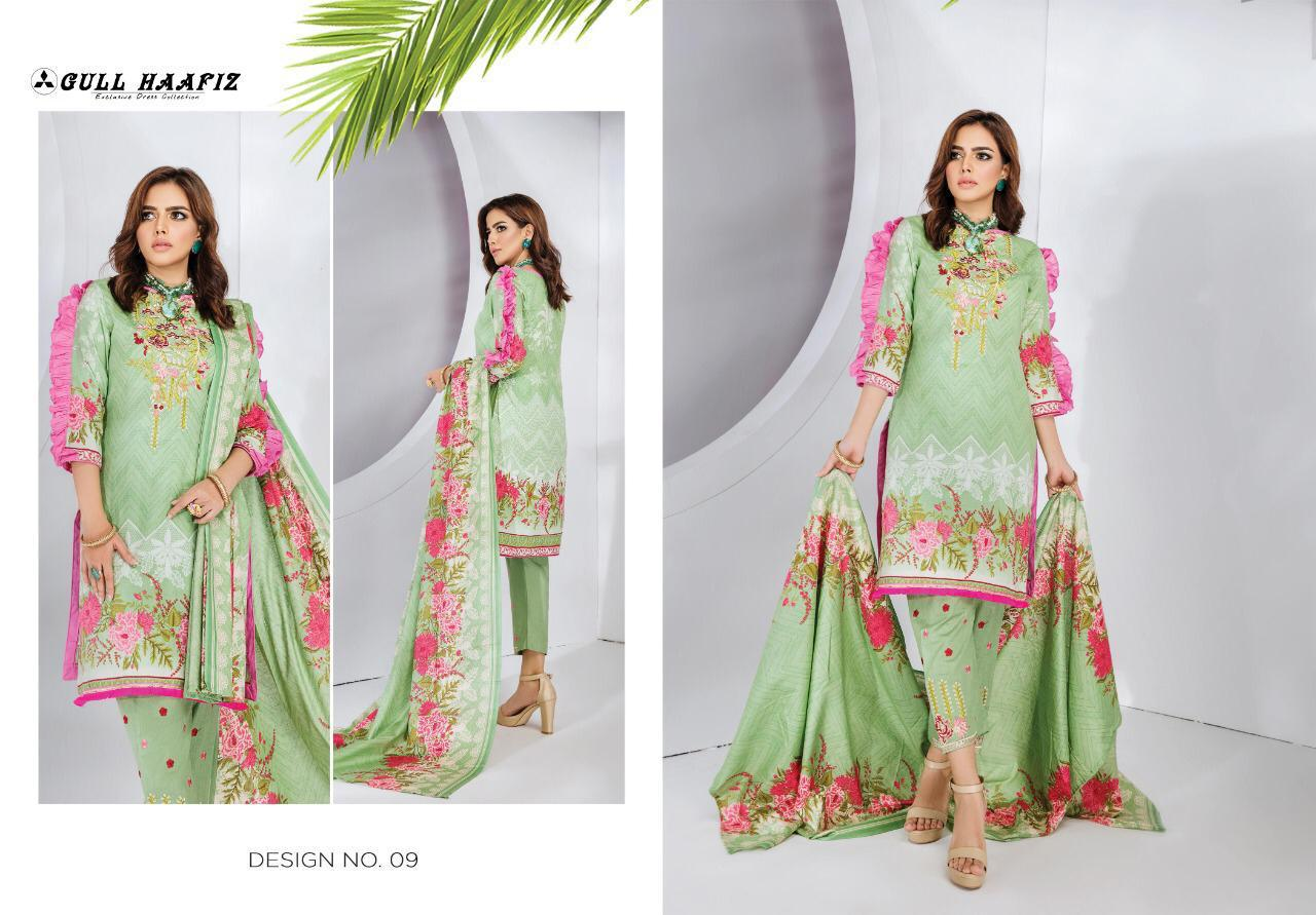 Gull Haafiz Salwar Suit Wholesale Catalog 10 Pcs 9 - Gull Haafiz Salwar Suit Wholesale Catalog 12 Pcs