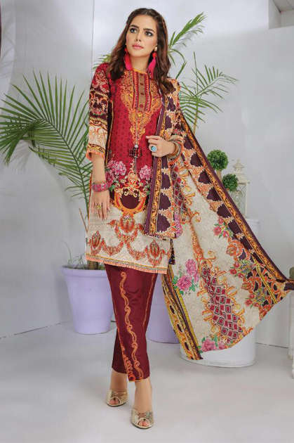 Gull Haafiz Salwar Suit Wholesale Catalog 12 Pcs