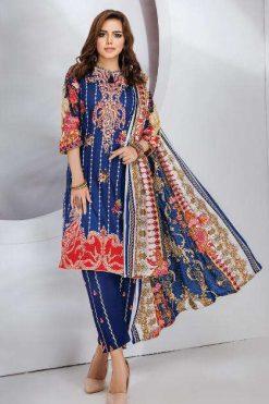 Gull Haafiz Salwar Suit Wholesale Catalog 12 Pcs