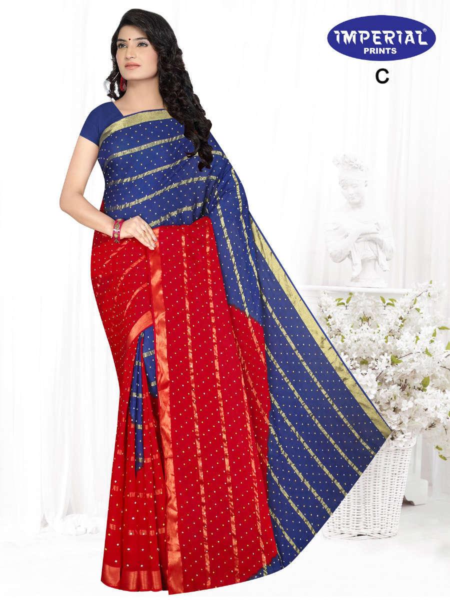 Imperial Hast Kala Saree Sari Wholesale Catalog 10 Pcs 1 - Imperial Hast Kala Saree Sari Wholesale Catalog 10 Pcs