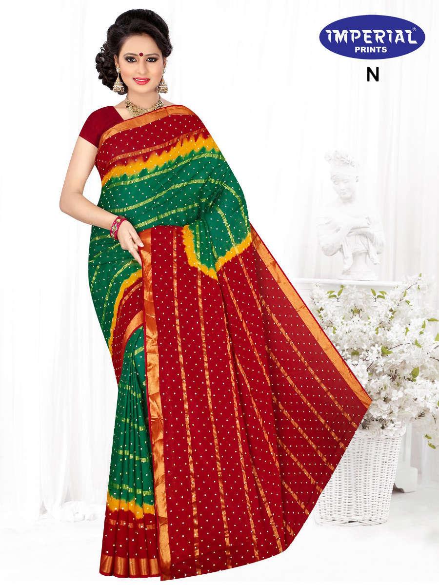 Imperial Hast Kala Saree Sari Wholesale Catalog 10 Pcs 9 - Imperial Hast Kala Saree Sari Wholesale Catalog 10 Pcs