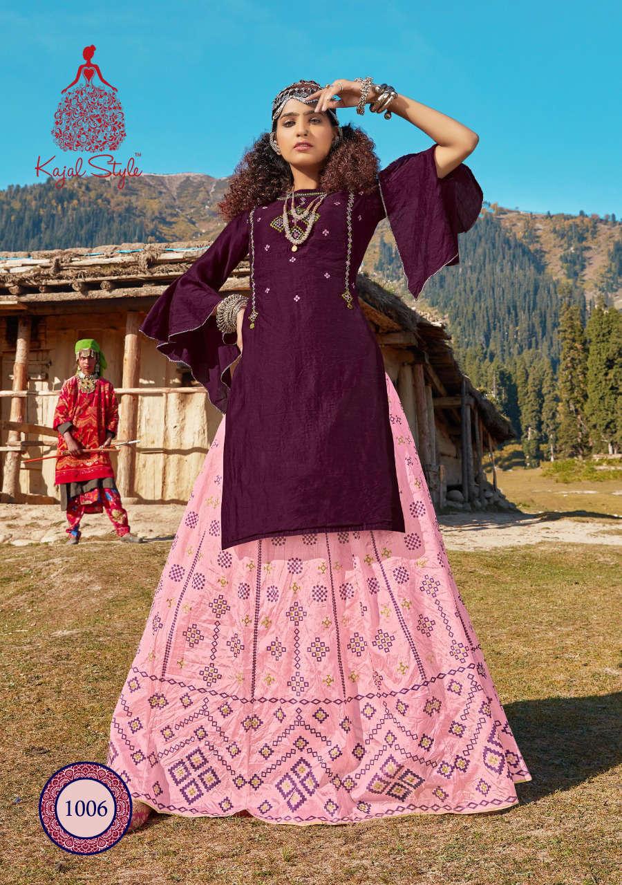 Kajal Style Fashion Fabulous Vol 1 Kurti with Skirt Wholesale Catalog 8 Pcs 10 - Kajal Style Fashion Fabulous Vol 1 Kurti with Skirt Wholesale Catalog 8 Pcs
