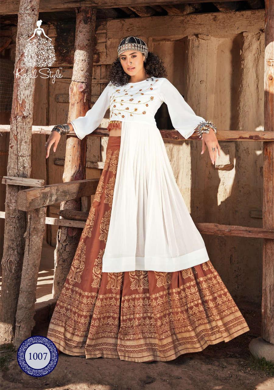 Kajal Style Fashion Fabulous Vol 1 Kurti with Skirt Wholesale Catalog 8 Pcs 12 - Kajal Style Fashion Fabulous Vol 1 Kurti with Skirt Wholesale Catalog 8 Pcs