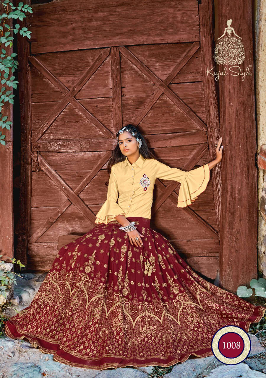 Kajal Style Fashion Fabulous Vol 1 Kurti with Skirt Wholesale Catalog 8 Pcs 13 - Kajal Style Fashion Fabulous Vol 1 Kurti with Skirt Wholesale Catalog 8 Pcs