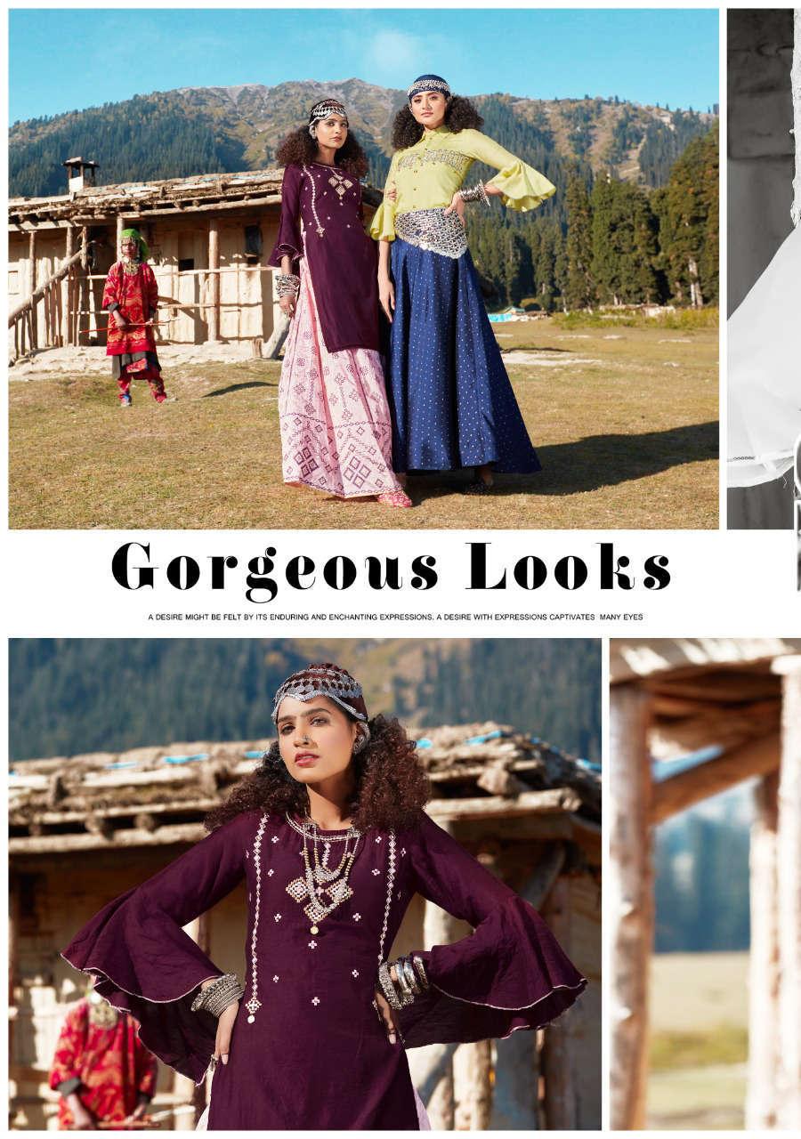 Kajal Style Fashion Fabulous Vol 1 Kurti with Skirt Wholesale Catalog 8 Pcs 2 - Kajal Style Fashion Fabulous Vol 1 Kurti with Skirt Wholesale Catalog 8 Pcs