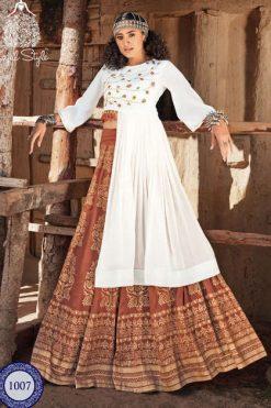 Kajal Style Fashion Fabulous Vol 1 Kurti with Skirt Wholesale Catalog 8 Pcs