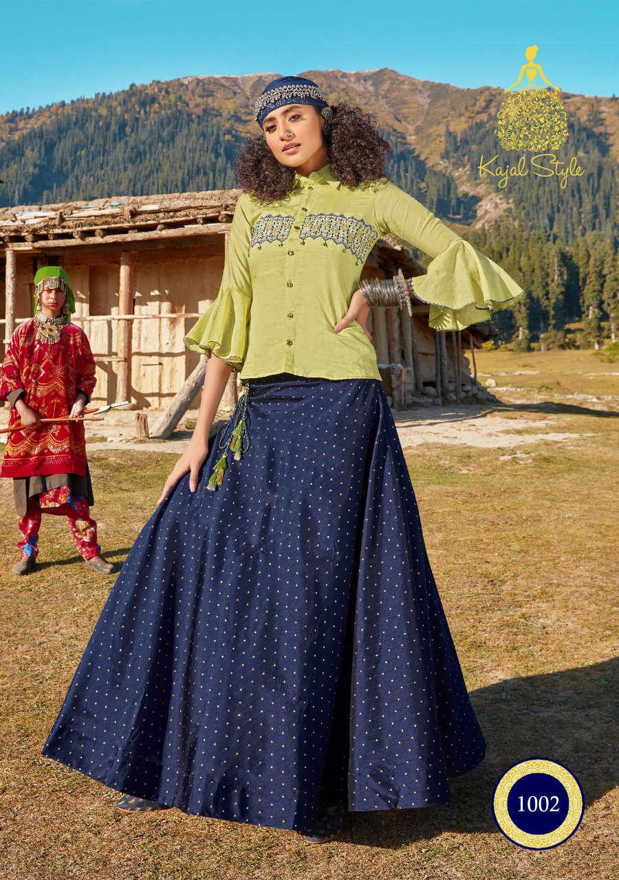 Kajal Style Fashion Fabulous Vol 1 Kurti with Skirt Wholesale Catalog 8 Pcs 5 - Kajal Style Fashion Fabulous Vol 1 Kurti with Skirt Wholesale Catalog 8 Pcs