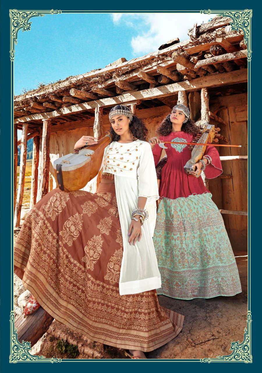 Kajal Style Fashion Fabulous Vol 1 Kurti with Skirt Wholesale Catalog 8 Pcs 7 - Kajal Style Fashion Fabulous Vol 1 Kurti with Skirt Wholesale Catalog 8 Pcs