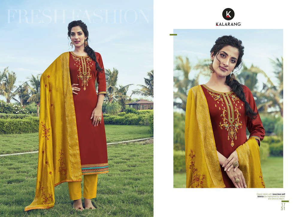 Kalarang Kitkat Vol 2 by Kessi Salwar Suit Wholesale Catalog 4 Pcs 1 - Kalarang Kitkat Vol 2 by Kessi Salwar Suit Wholesale Catalog 4 Pcs