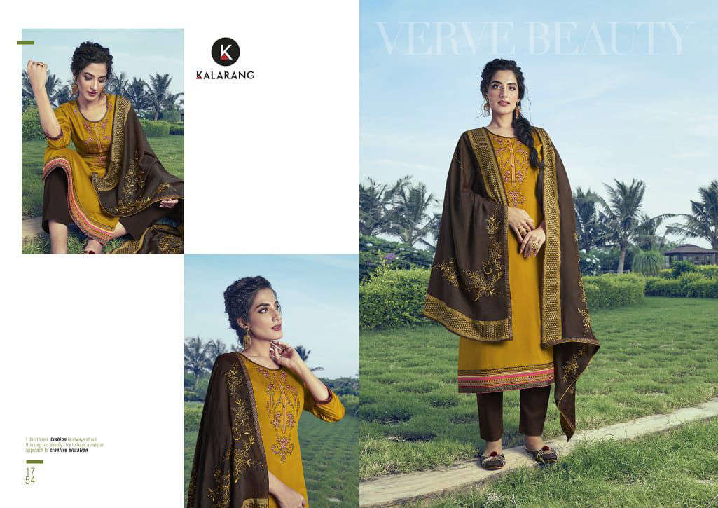 Kalarang Kitkat Vol 2 by Kessi Salwar Suit Wholesale Catalog 4 Pcs 4 - Kalarang Kitkat Vol 2 by Kessi Salwar Suit Wholesale Catalog 4 Pcs