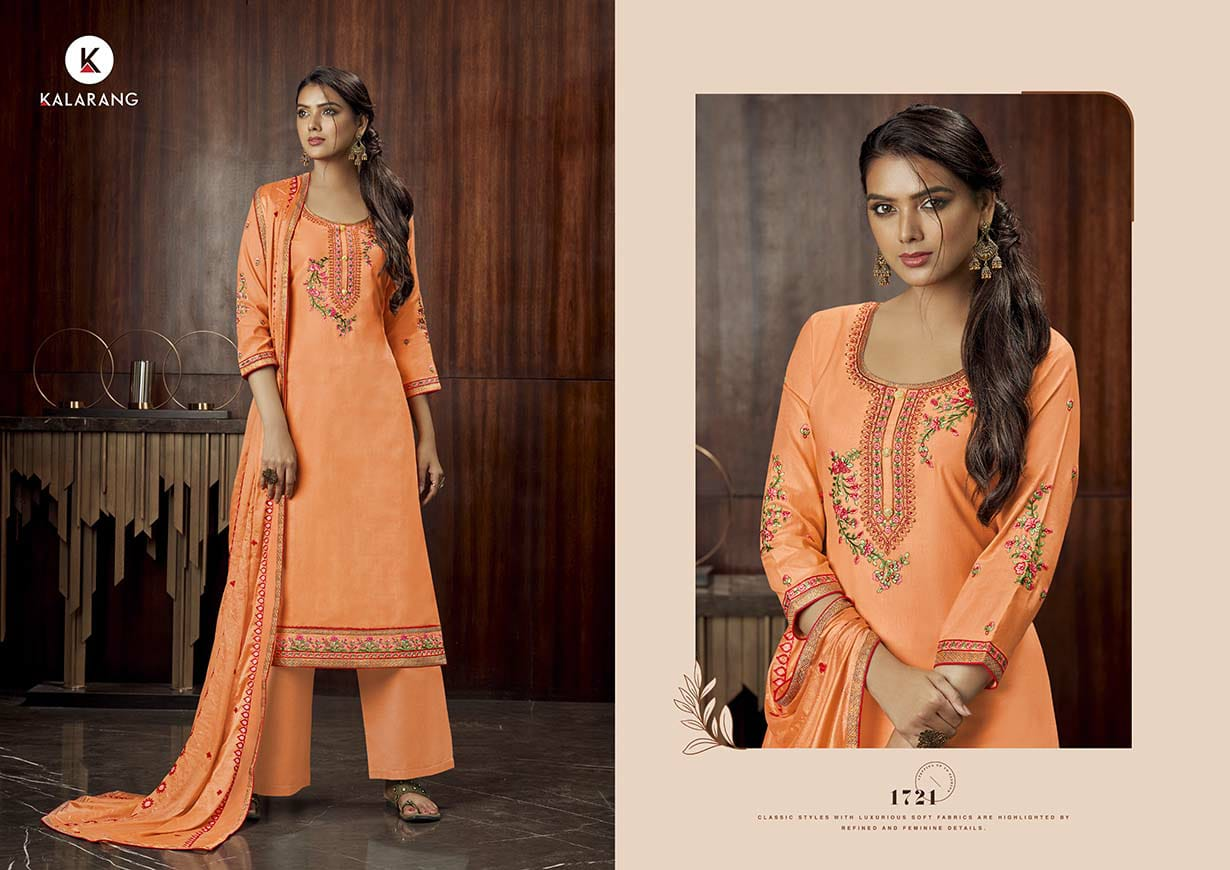 Kalarang Milah by Kessi Salwar Suit Wholesale Catalog 4 Pcs 1 - Kalarang Milah by Kessi Salwar Suit Wholesale Catalog 4 Pcs