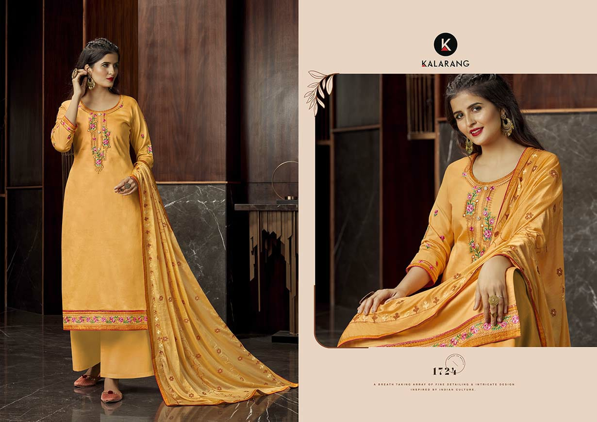 Kalarang Milah by Kessi Salwar Suit Wholesale Catalog 4 Pcs 2 - Kalarang Milah by Kessi Salwar Suit Wholesale Catalog 4 Pcs