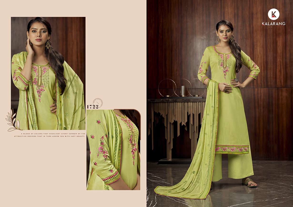 Kalarang Milah by Kessi Salwar Suit Wholesale Catalog 4 Pcs 3 - Kalarang Milah by Kessi Salwar Suit Wholesale Catalog 4 Pcs