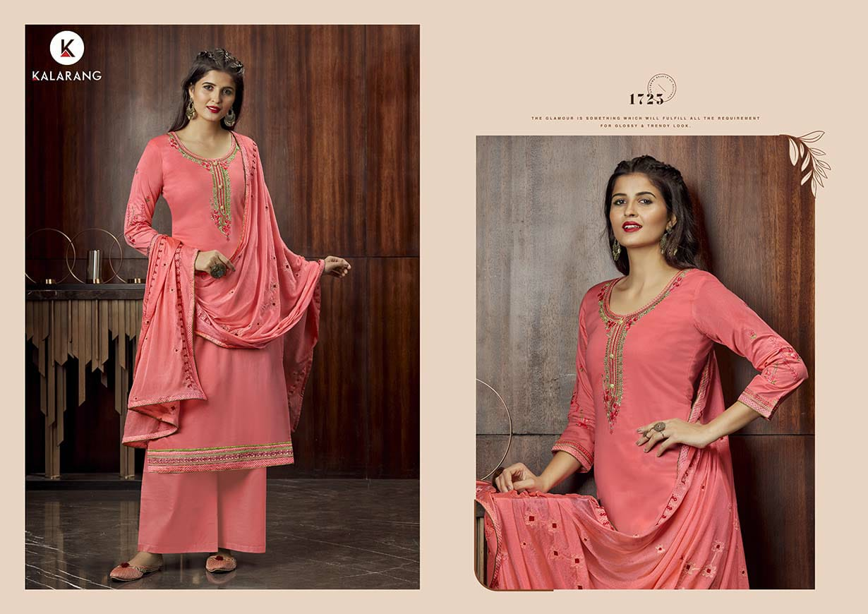 Kalarang Milah by Kessi Salwar Suit Wholesale Catalog 4 Pcs 5 - Kalarang Milah by Kessi Salwar Suit Wholesale Catalog 4 Pcs