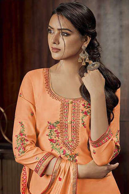 Kalarang Milah by Kessi Salwar Suit Wholesale Catalog 4 Pcs