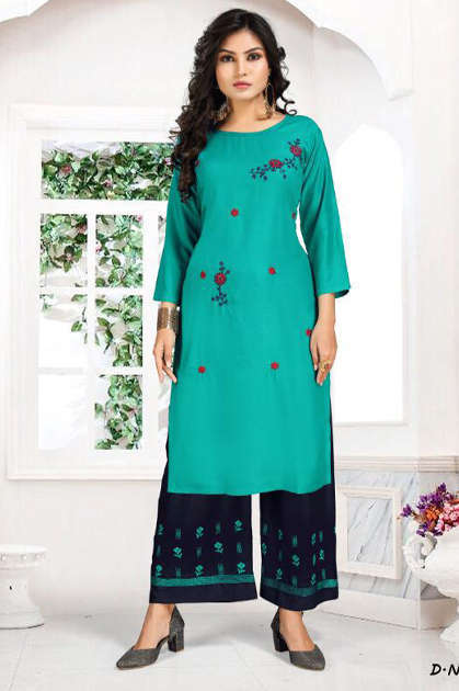 Kashish Kurti with Palazzo Wholesale Catalog 6 Pcs