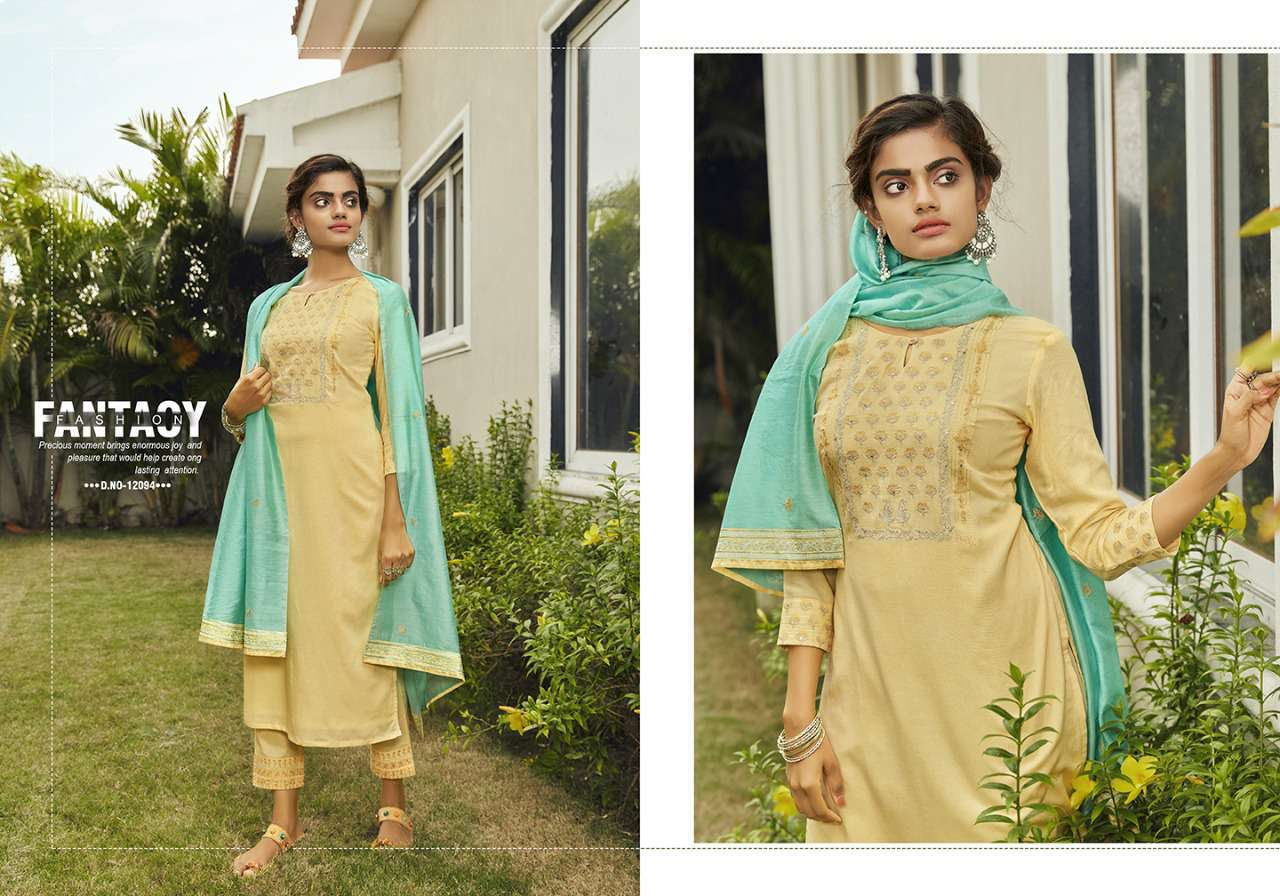 Kivi Kodiaq by Kajree Kurti with Dupatta Bottom Wholesale Catalog 4 Pcs 1 - Kivi Kodiaq by Kajree Kurti with Dupatta Bottom Wholesale Catalog 4 Pcs