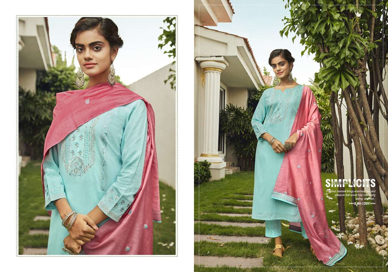 Kivi Kodiaq by Kajree Kurti with Dupatta Bottom Wholesale Catalog 4 Pcs 3 - Kivi Kodiaq by Kajree Kurti with Dupatta Bottom Wholesale Catalog 4 Pcs