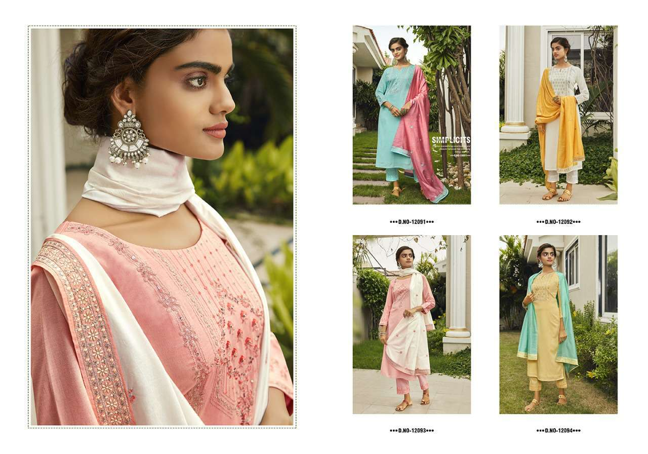 Kivi Kodiaq by Kajree Kurti with Dupatta Bottom Wholesale Catalog 4 Pcs 7 - Kivi Kodiaq by Kajree Kurti with Dupatta Bottom Wholesale Catalog 4 Pcs