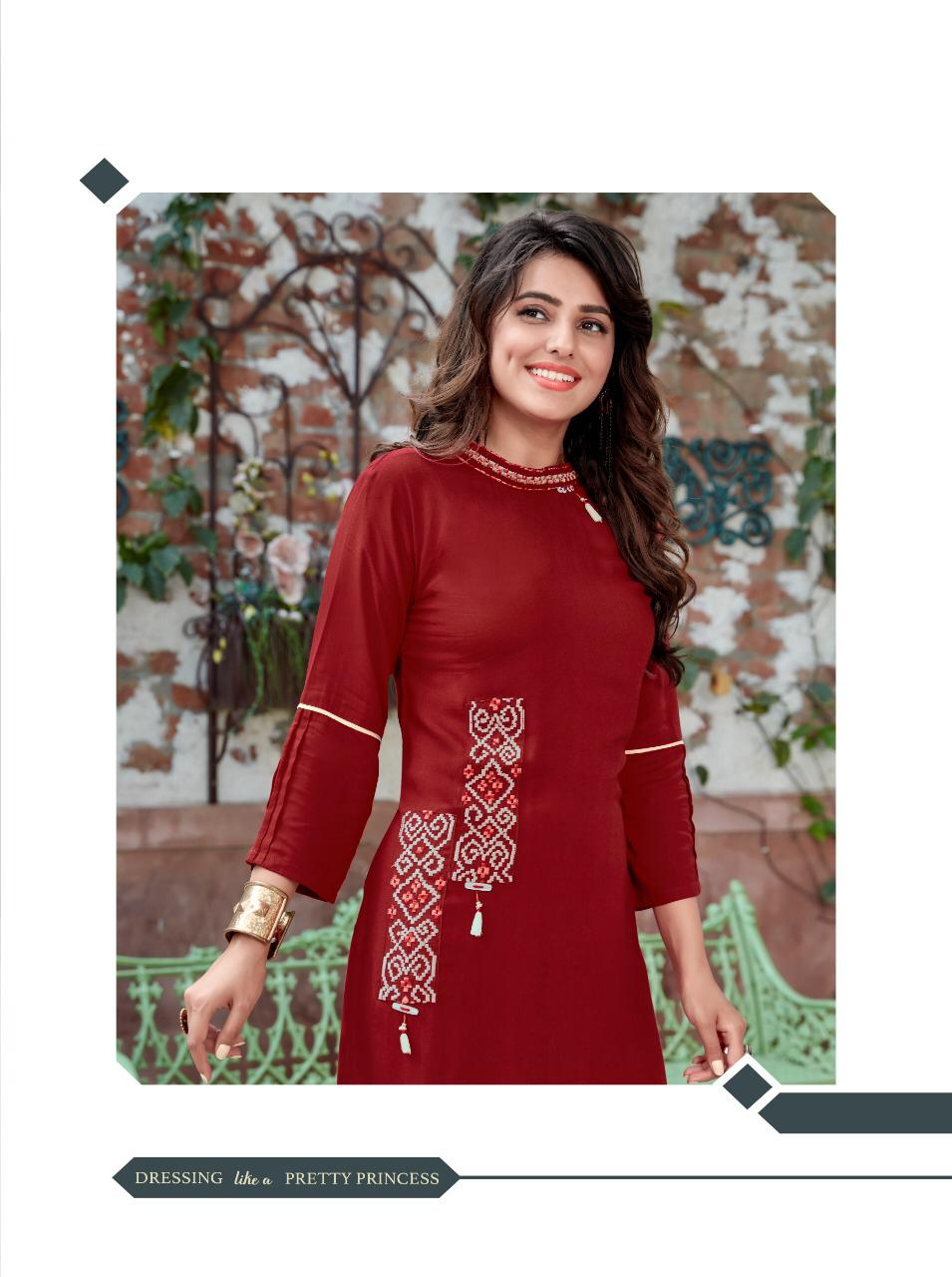 Ladies Flavour Signature Vol 3 Kurti with Palazzo Wholesale Catalog 8 Pcs 6 - Ladies Flavour Signature Vol 3 Kurti with Palazzo Wholesale Catalog 8 Pcs