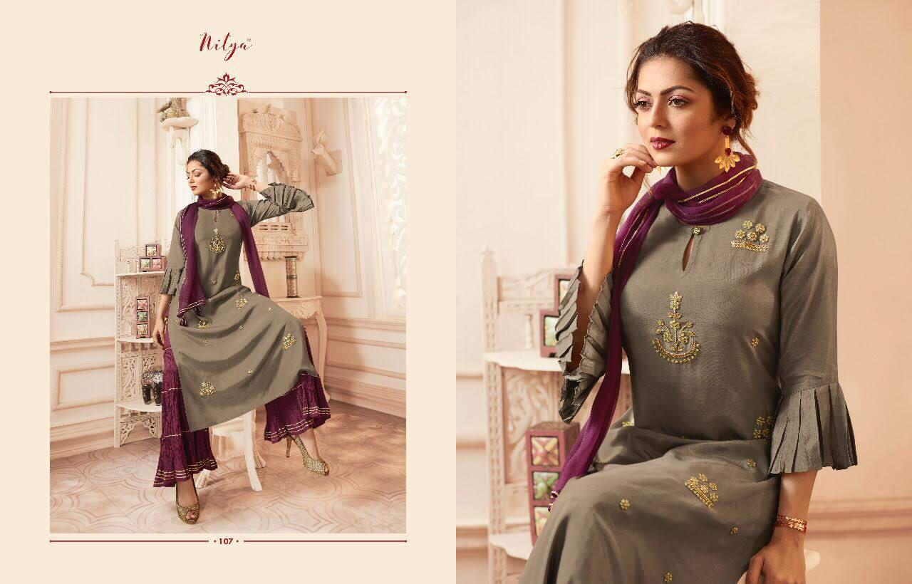 Lt Fabrics Nitya Vivana Kurti with Dupatta Bottom Wholesale Catalog 7 Pcs 11 - Lt Fabrics Nitya Vivana Kurti with Dupatta Bottom Wholesale Catalog 7 Pcs