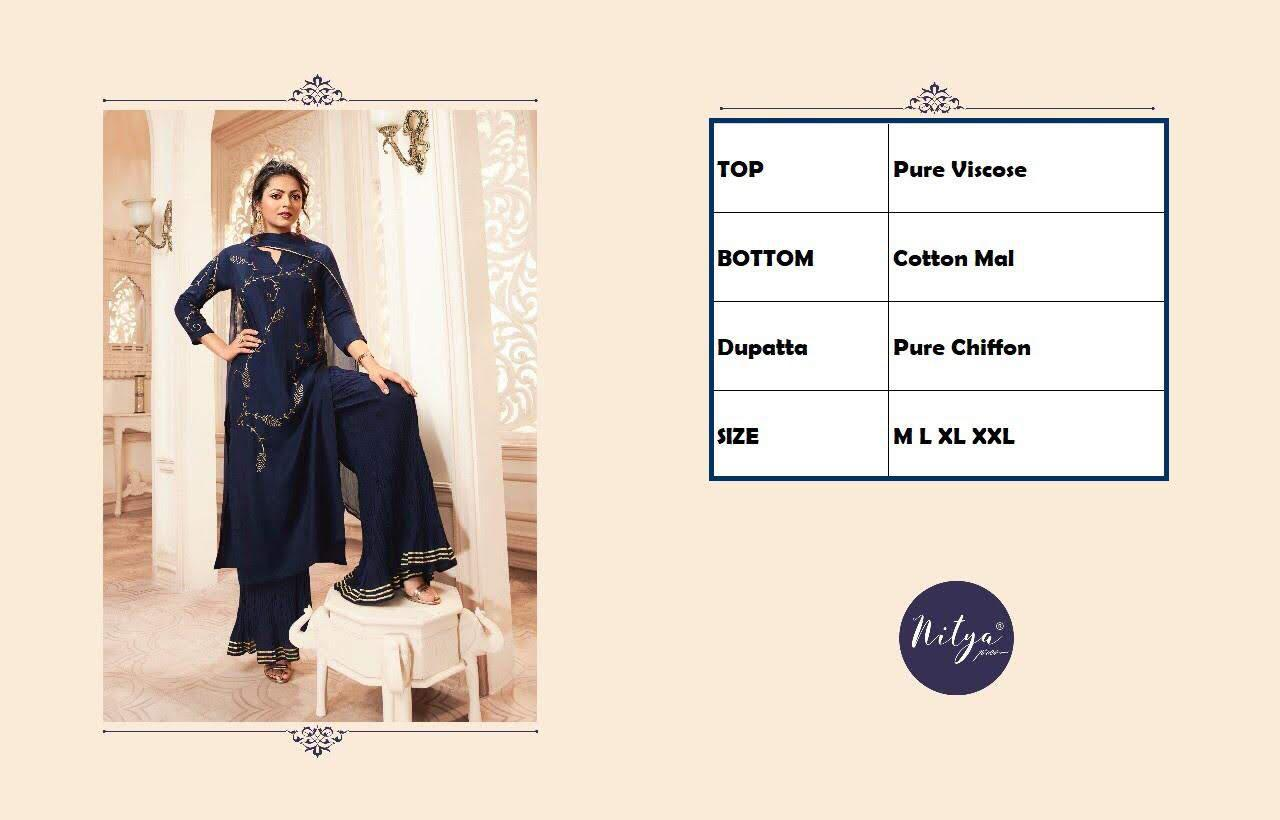 Lt Fabrics Nitya Vivana Kurti with Dupatta Bottom Wholesale Catalog 7 Pcs 15 - Lt Fabrics Nitya Vivana Kurti with Dupatta Bottom Wholesale Catalog 7 Pcs