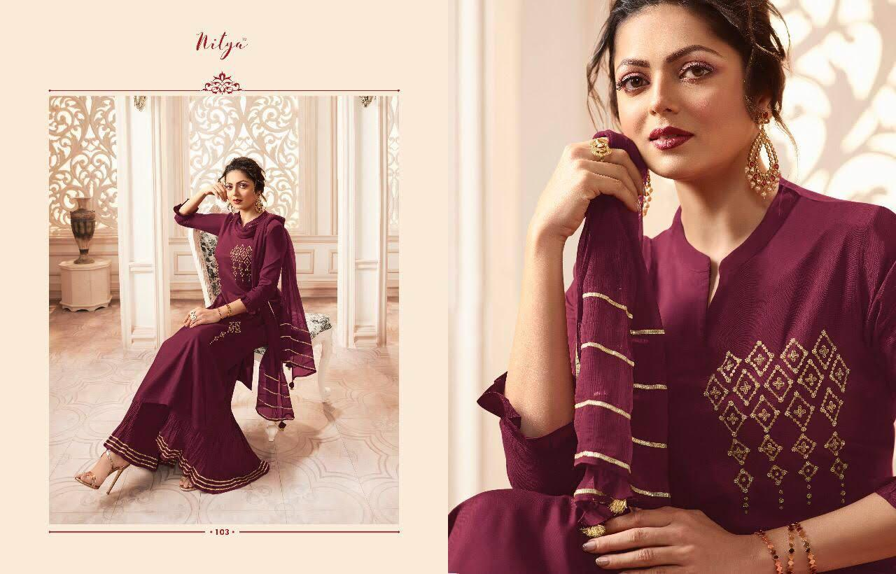 Lt Fabrics Nitya Vivana Kurti with Dupatta Bottom Wholesale Catalog 7 Pcs 3 - Lt Fabrics Nitya Vivana Kurti with Dupatta Bottom Wholesale Catalog 7 Pcs