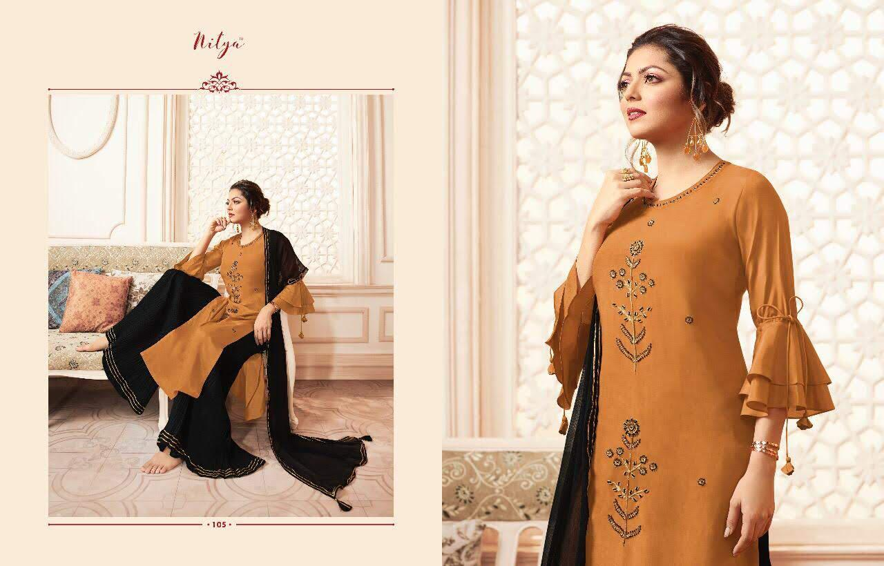 Lt Fabrics Nitya Vivana Kurti with Dupatta Bottom Wholesale Catalog 7 Pcs 6 - Lt Fabrics Nitya Vivana Kurti with Dupatta Bottom Wholesale Catalog 7 Pcs