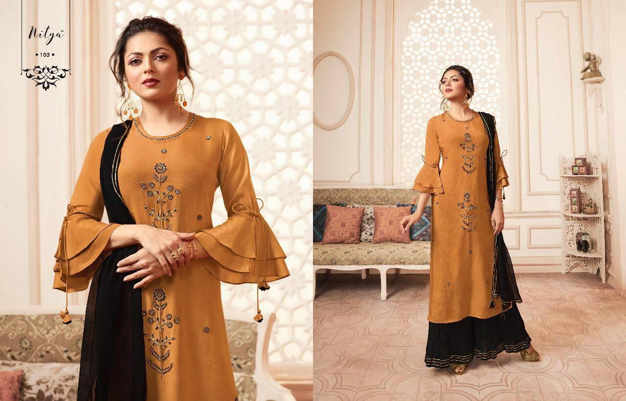 Lt Fabrics Nitya Vivana Kurti with Dupatta Bottom Wholesale Catalog 7 Pcs 7 - Lt Fabrics Nitya Vivana Kurti with Dupatta Bottom Wholesale Catalog 7 Pcs