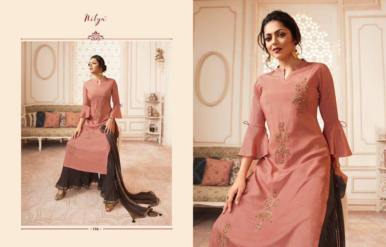 Lt Fabrics Nitya Vivana Kurti with Dupatta Bottom Wholesale Catalog 7 Pcs 9 - Lt Fabrics Nitya Vivana Kurti with Dupatta Bottom Wholesale Catalog 7 Pcs