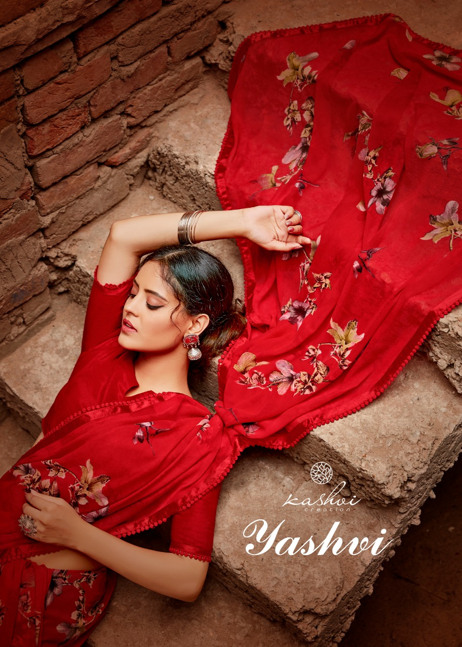 Lt Fabrics Yashvi Saree Sari Wholesale Catalog 10 Pcs 1 - Lt Fabrics Yashvi Saree Sari Wholesale Catalog 10 Pcs