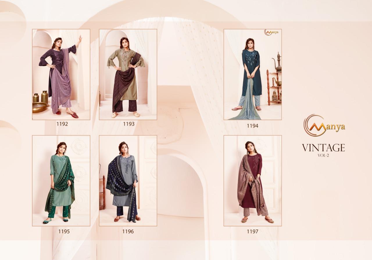 Manya Vintage Vol 2 Readymade Salwar Suit Wholesale Catalog 6 Pcs 7 - Manya Vintage Vol 2 Readymade Salwar Suit Wholesale Catalog 6 Pcs