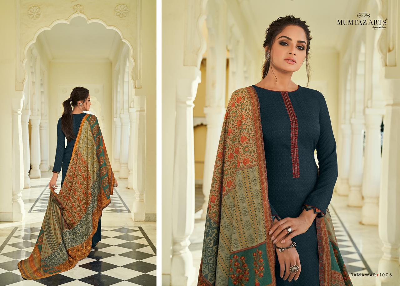 Mumtaz Arts Jamawar Pashmina Salwar Suit Wholesale Catalog 10 Pcs 10 - Mumtaz Arts Jamawar Pashmina Salwar Suit Wholesale Catalog 10 Pcs