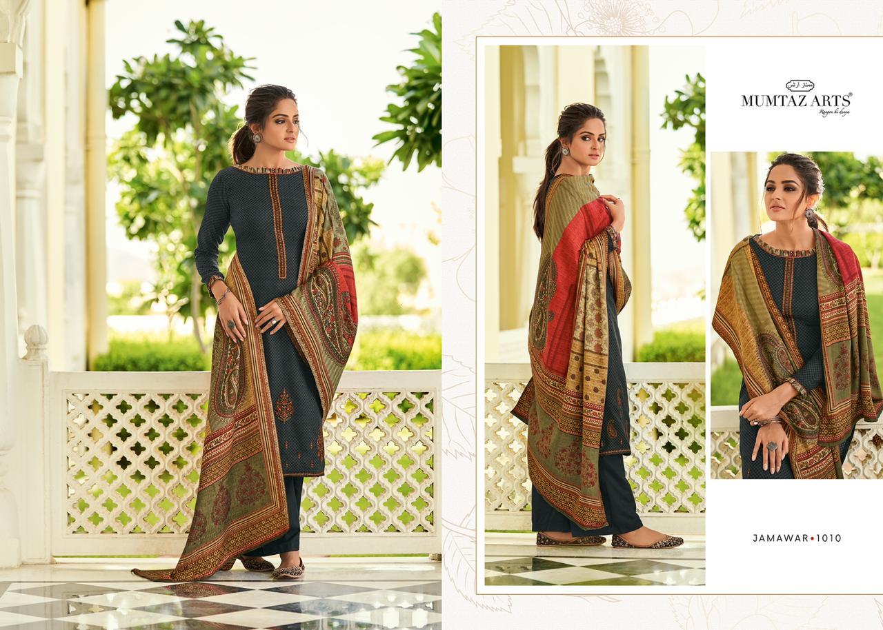 Mumtaz Arts Jamawar Pashmina Salwar Suit Wholesale Catalog 10 Pcs 16 - Mumtaz Arts Jamawar Pashmina Salwar Suit Wholesale Catalog 10 Pcs
