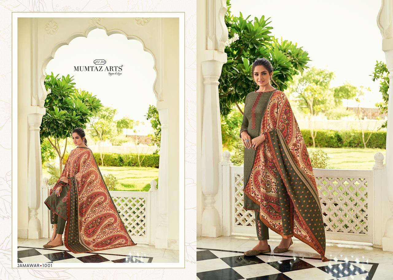 Mumtaz Arts Jamawar Pashmina Salwar Suit Wholesale Catalog 10 Pcs 2 - Mumtaz Arts Jamawar Pashmina Salwar Suit Wholesale Catalog 10 Pcs