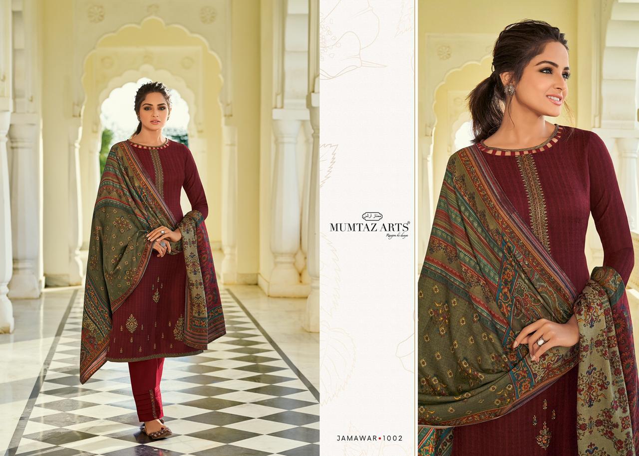 Mumtaz Arts Jamawar Pashmina Salwar Suit Wholesale Catalog 10 Pcs 7 - Mumtaz Arts Jamawar Pashmina Salwar Suit Wholesale Catalog 10 Pcs