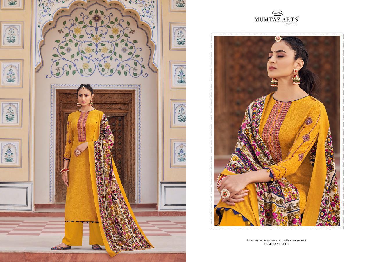 Mumtaz Arts Jamdani Pashmina Salwar Suit Wholesale Catalog 10 Pcs 10 - Mumtaz Arts Jamdani Pashmina Salwar Suit Wholesale Catalog 10 Pcs