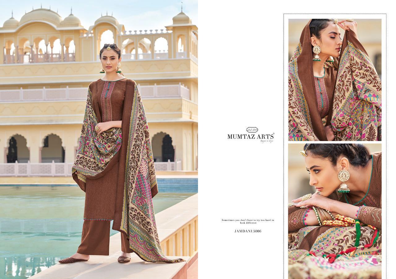 Mumtaz Arts Jamdani Pashmina Salwar Suit Wholesale Catalog 10 Pcs 11 - Mumtaz Arts Jamdani Pashmina Salwar Suit Wholesale Catalog 10 Pcs