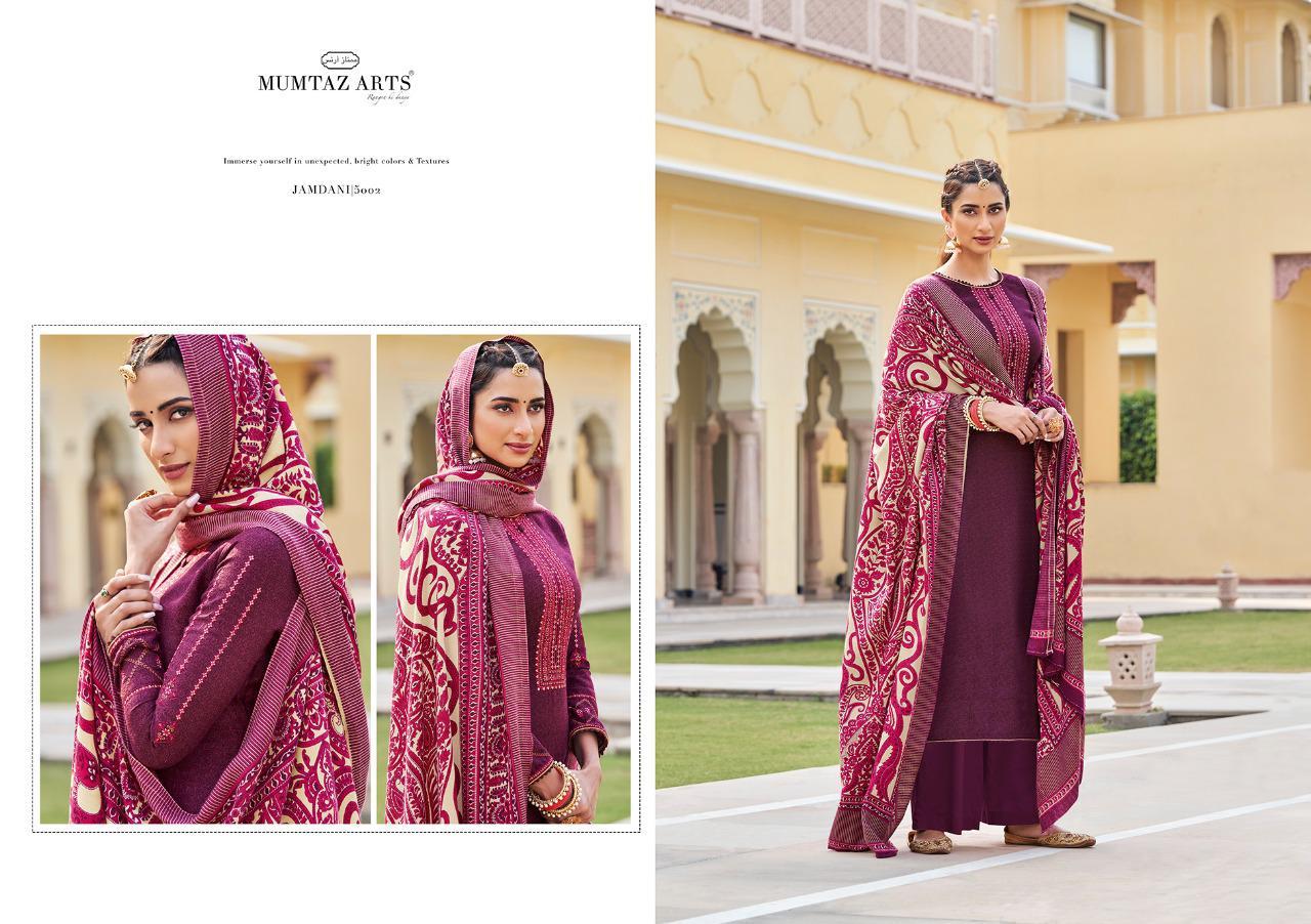 Mumtaz Arts Jamdani Pashmina Salwar Suit Wholesale Catalog 10 Pcs 2 - Mumtaz Arts Jamdani Pashmina Salwar Suit Wholesale Catalog 10 Pcs