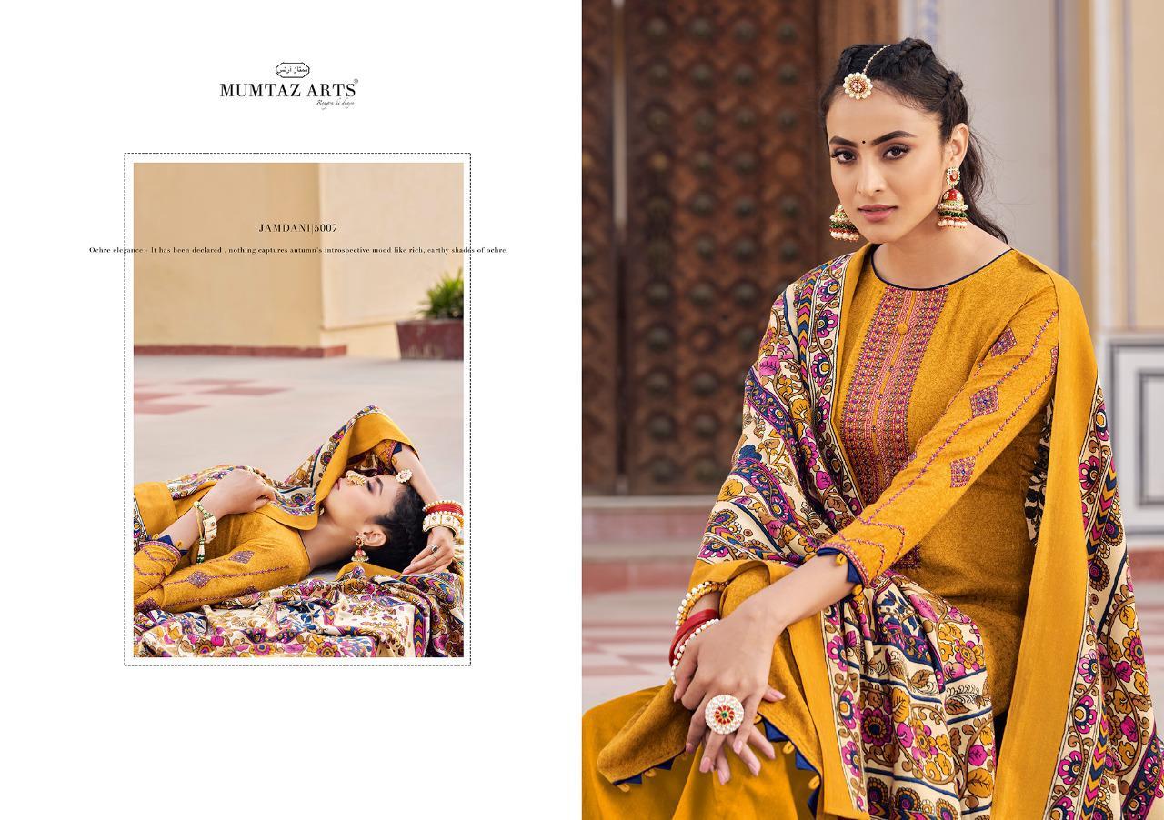 Mumtaz Arts Jamdani Pashmina Salwar Suit Wholesale Catalog 10 Pcs 6 - Mumtaz Arts Jamdani Pashmina Salwar Suit Wholesale Catalog 10 Pcs